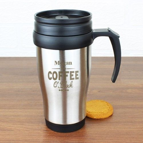 Coffee O'Clock Travel Mug